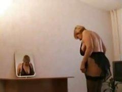 Enthousiasteling, Rijpe lesbienne, Russisch