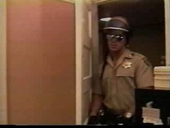 Police fucking an Army Soldier in his office