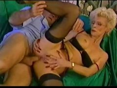 Pierced Granny In Glasses Fisted And moreover Fucked
