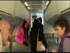Stewardess Madison Parker Has an intercourse