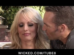 CHEATING Big TIT Porn model STORMY DANIELS Gets down and dirty STRANGER
