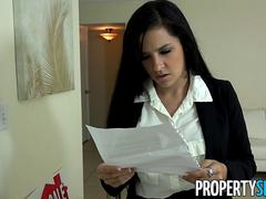 PropertySex Ruthless Real Estate Agent Fucked By Home Inspector
