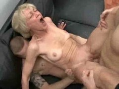 Entirely Lustful Granny Loves To Take Youthful Ramrods And plus Semen !