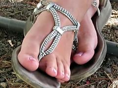 my wife's diamond feet