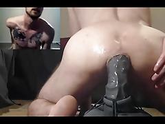 Enthousiasteling, Kont, Seksspeelgoed, Homo, Masturbatie, Spier, Webcamera