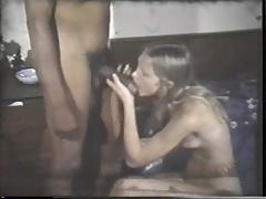 Blondine, Sperma im mund, Interrassisch