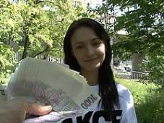 Tschechisch, Europäisch, Geld, Pov, Muschi, Reiten
