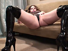 Get your cock nice and hard for my panties JOI