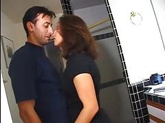 Melissa Monet seducing the plumber
