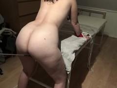 Amateur, Cul, Brunette brune, Fétiche, Jouets, Webcam