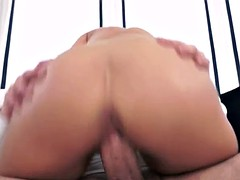 Angelina Wild Footjob and Wild Cock Ride