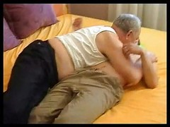 Grandpa Seduces Immature Charming Boy