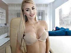 Blonde, Russe, Webcam
