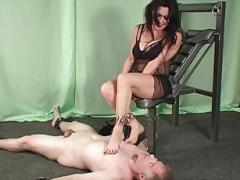 Pieds, Femme dominatrice, Fétiche des pieds