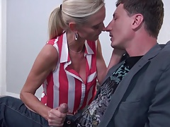 Sexy mature moms fuck young dirty sons