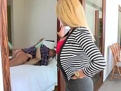 Mamada, Universidad, Pareja, Novia, Madres para coger, Flaco, Adolescente, Trio