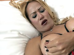 Lencería, Masturbación, Maduro, Transexual, Solo
