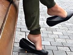 Candid dangle flats shoeplay - SEXY