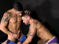 Latin gays anal sex and cumshot