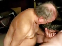 Old men sucking a cock