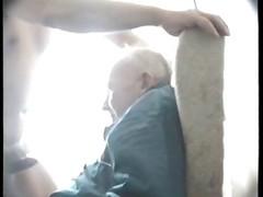 Grandpa Give oral sex
