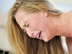 Анальный секс, Блондинки, Минет, Двойное проникновение, Женщины, Втроем