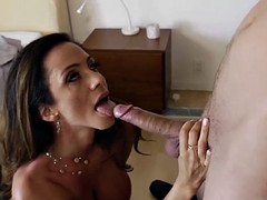 My girlfriend's mother is very hot and passionate