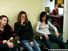 Four girl school corporal punishment