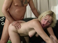 German MILF Seduce Doctor to Fuck her When Home Alone