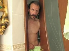 Father fucked daughter in the bathroom