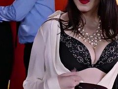 Анальный секс, Брюнетки, В офисе, Чулки