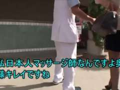 Japanese stud touches American wives (PTS 162)