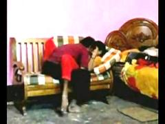 Desi Couple fucking on sofa