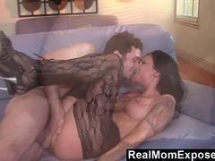RealMomExposed  Real Rough Fucking Between Mom Victoria Sin  James Deen