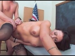 Hot mature teacher horny on student