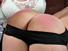 butthole spanking