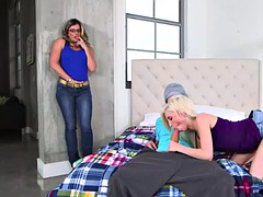Piper Perri threesome with stepmom