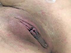 Gode, Lingerie, Masturbation, Rasée