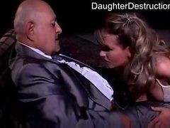 Smoking hot Legal teen Daughter Roughly Hatefucked
