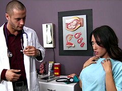 Routine checkup sparks Capri Cavanni being fucked by her doc