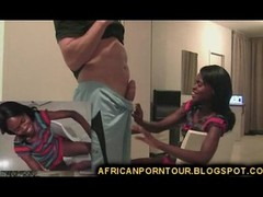 Slim African Girl Undressed
