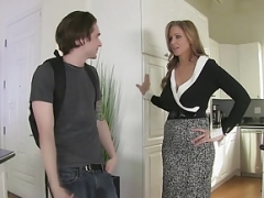 StepMom Julia Ann Makes love Stepson in Ass!