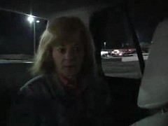 Aged Prostitute banged at Parking Lot