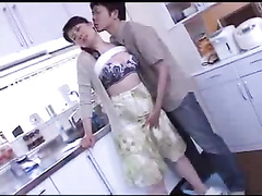 Japanese boy onslaught confused girlfriends mother