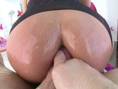 Busty chick experiences her best anal sex ever