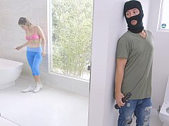 アメリカ人, 浴室, オマンコ, シャワー, ティーン