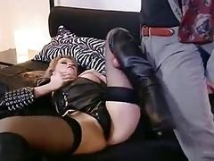 mind-boggling leather female