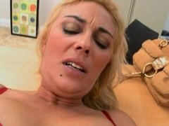 Pretty milf is fucked on the office desk since she likes to fuck there
