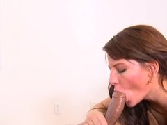 Super nasty American brunette slut needs a black dong right now