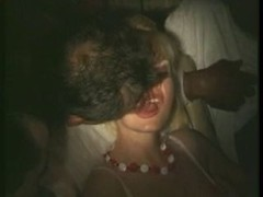 french wife touched and besides licked in porn cinema (80s)